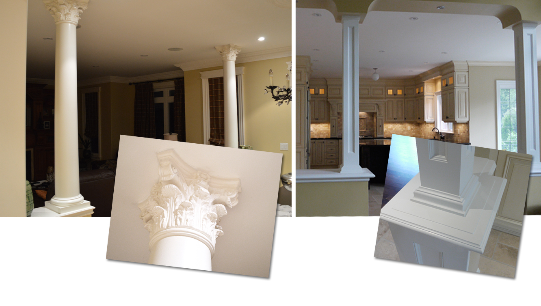 Via Trim And Doors Decorative Columns